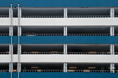 Multilevel car parking texture Stock Photo