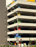 Multilevel parking Stock Image