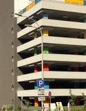 Multilevel parking Stock Image