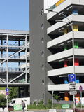 Multilevel parking Royalty Free Stock Photo