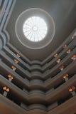 Multilevel sala w hotelu ludwika Mauritius port Obraz Royalty Free