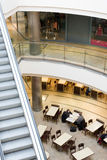 Multilevel shopping mall. Inside an multilevel shopping mall Royalty Free Stock Photography