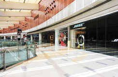 Multilevel shoppingmall interior Royalty Free Stock Photos