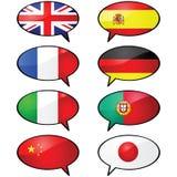 Multilingüe Fotografía de archivo