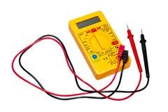 Multimètre pour l'électricien Photographie stock libre de droits