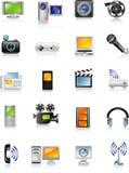 Multimédios Imagem de Stock