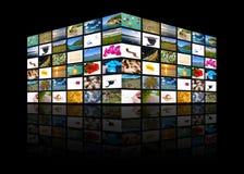 Multimedia Imagen de archivo libre de regalías