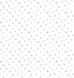 Multimedia arrows seamless pattern Royalty Free Stock Photography