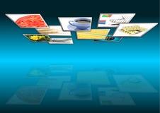 Multimedia background Stock Photo