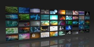 Multimedia Background royalty free illustration