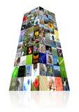 Multimedia background Stock Images