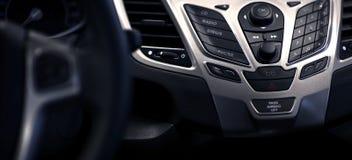 Multimedia Car Dash Stock Images
