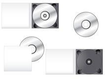 Multimedia CD Packaging Stock Photos