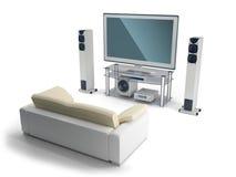 Multimedia center royalty free stock image