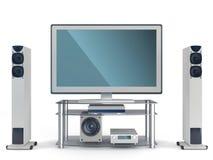 Multimedia center stock photos
