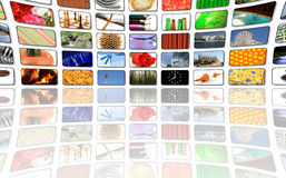 Multimedia center business presentation Stock Photo