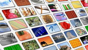 Multimedia center presentation Royalty Free Stock Photo
