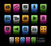 Multimedia // Colorbox Series Stock Image