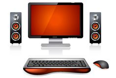 Multimedia Computer Station Stock Images