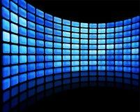 Multimedia display Stock Image