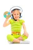 Multimedia girl Royalty Free Stock Photography