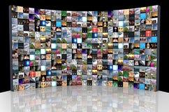 Multimedia-Hintergrund Lizenzfreie Stockfotografie