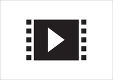 Multimedia Icon. From photo galery, video galery Royalty Free Stock Photo