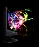 Multimedia magisch Lizenzfreie Stockfotografie