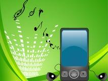 Multimedia mobili Immagine Stock