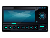 Multimedia player interface Stock Photo