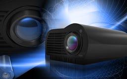 Multimedia Projector vector illustration