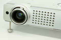 Multimedia projector. Over exposed photo of a multimedia projector Stock Images