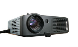 Multimedia projector 2. Multimedia projector on a white 2 stock images