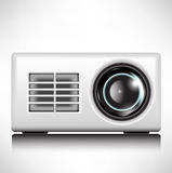 Multimedia projector Stock Photo
