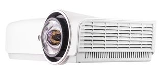 Multimedia Projector Isolated on White Background.  stock image