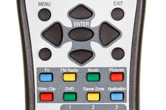 Multimedia remote control Royalty Free Stock Image