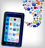 Multimedia Smartphone Stock Images