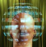 Multimedia Sphere royalty free illustration