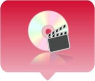 Multimedia-Spielerikone Stockbild