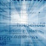 Multimedia text concept Stock Photos