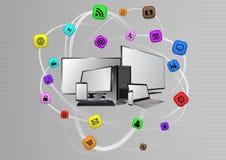Multimediagerät Stockbild