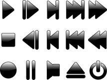 multimedialni symbole Zdjęcia Stock