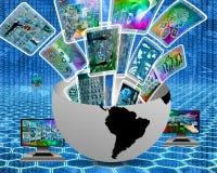 multimedias ilustración del vector