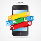 Multimediatelefon Lizenzfreie Stockfotografie