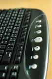 multimedior för datortangentbord arkivbild