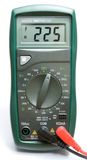 Multimeter. The measuring device - a digital multimeter royalty free stock image