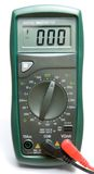 Multimeter. The measuring device - a digital multimeter royalty free stock photography