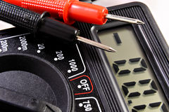 Multimeter with Royalty Free Stock Images