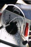 Multimeter. Multimetr - special electrical measuring equipment Royalty Free Stock Image