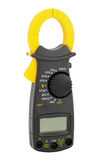 Multimeter. High-resistance ohmmeter, voltmeter, ampermeter and thermometer royalty free stock image